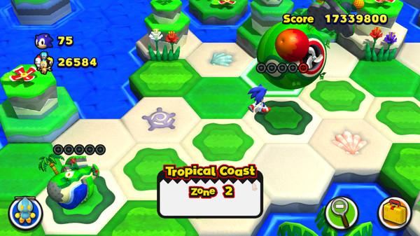 Скриншот №1 к Sonic Lost World
