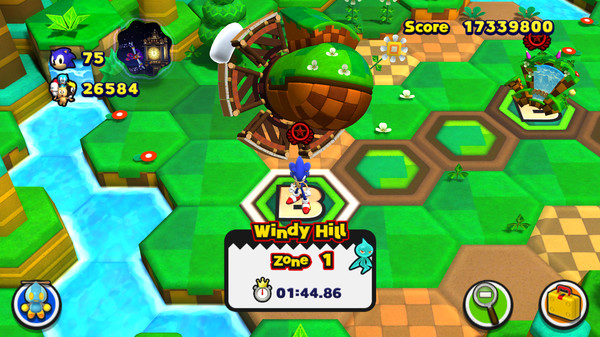 Скриншот №2 к Sonic Lost World