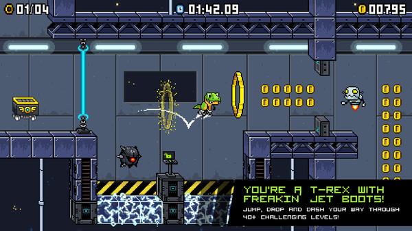 скриншот JumpJet Rex 0
