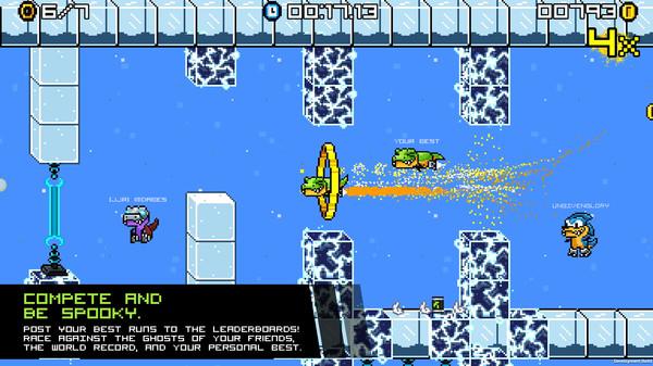 скриншот JumpJet Rex 3