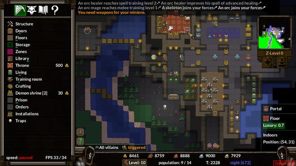 KeeperRL screenshot