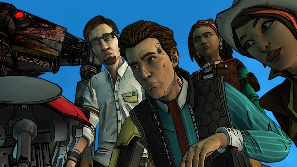 Скриншот №1 к Tales from the Borderlands