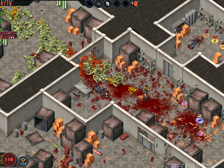 Скриншот №3 к Alien Shooter