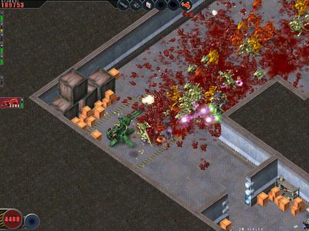 Скриншот №6 к Alien Shooter