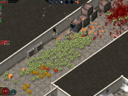Скриншот №4 к Alien Shooter