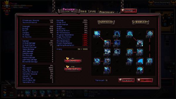 Скриншот №1 к Class - Fallen Paladin