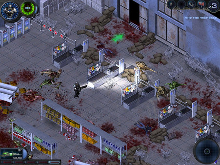 Скриншот №1 к Alien Shooter 2 Reloaded