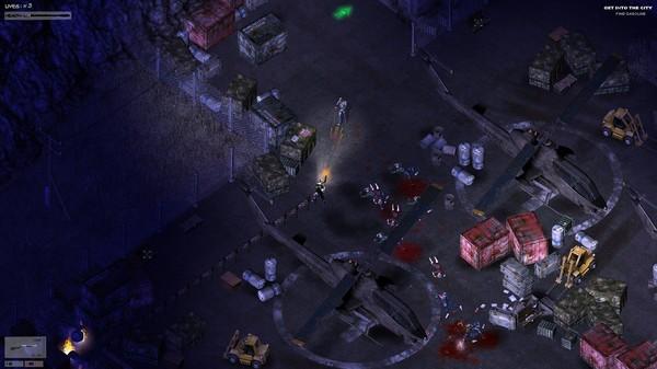 Скриншот №1 к Zombie Shooter 2