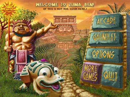Скриншот №1 к Zuma Deluxe