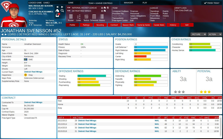 Franchise Hockey Manager 2 Screenshot 1