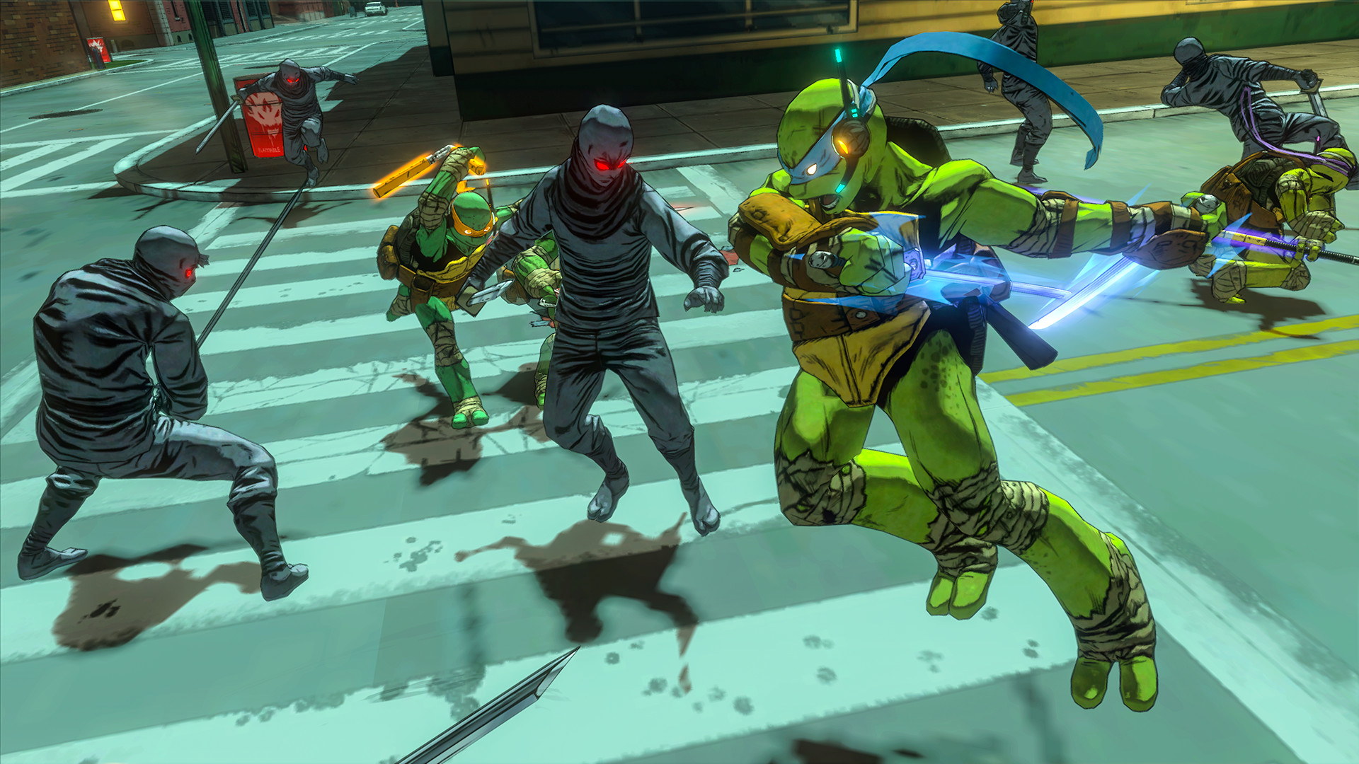 Teenage Mutant Ninja Turtles: Mutants in Manhattan Screenshot 3