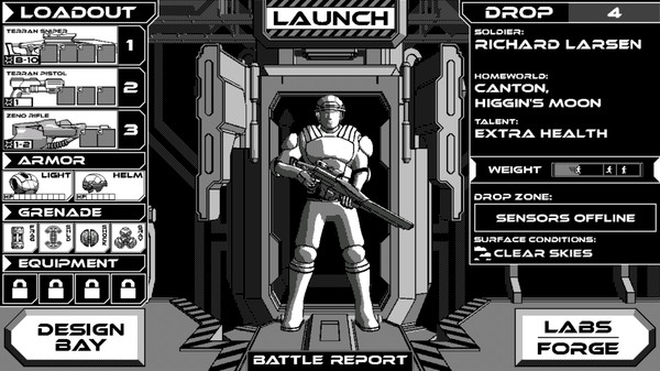 Скриншот №2 к Rogue Invader