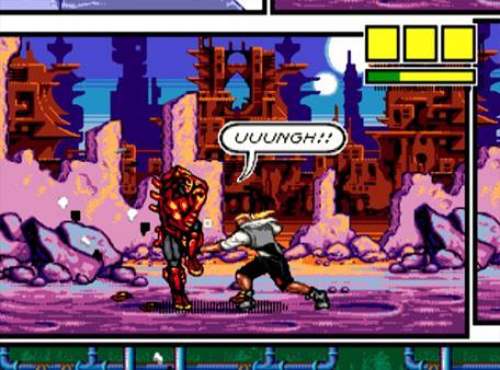 скриншот Comix Zone 1