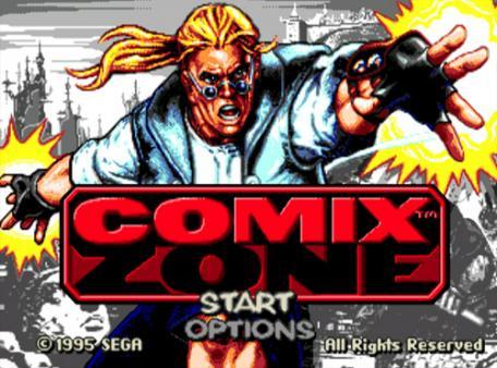 скриншот Comix Zone 0