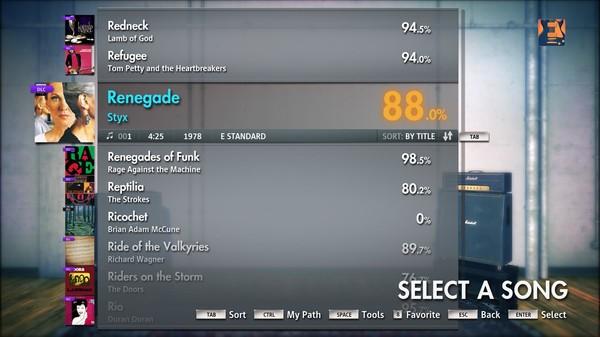 "Скриншот №1 к Rocksmith® 2014 – Styx - ""Renegade"""