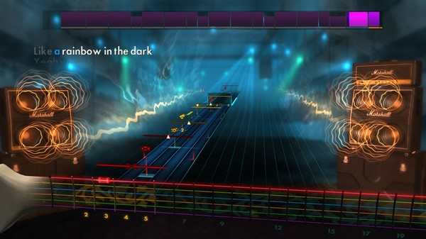 "Скриншот №4 к Rocksmith® 2014 – Dio - ""Rainbow in the Dark"""
