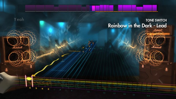 "Скриншот №5 к Rocksmith® 2014 – Dio - ""Rainbow in the Dark"""