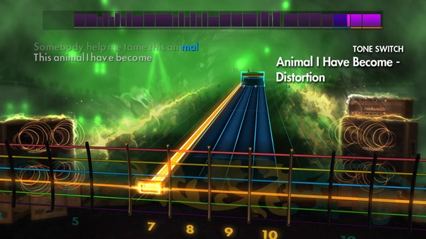 "Скриншот №2 к Rocksmith® 2014 – Three Days Grace - ""Animal I Have Become"""