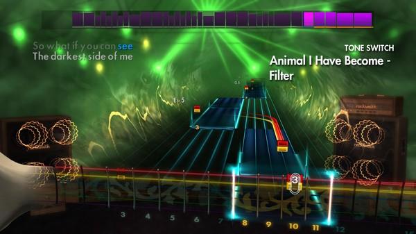 "Скриншот №4 к Rocksmith® 2014 – Three Days Grace - ""Animal I Have Become"""