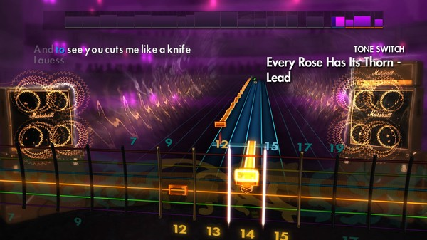 "Скриншот №4 к Rocksmith® 2014 – Poison - ""Every Rose Has Its Thorn"""