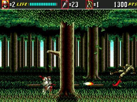 скриншот Shinobi III: Return of the Ninja Master 1