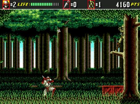 скриншот Shinobi III: Return of the Ninja Master 3