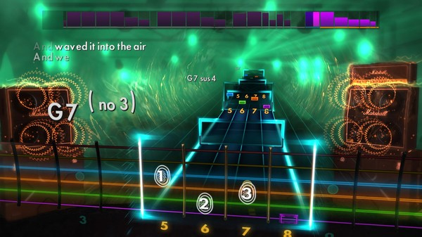 "Скриншот №4 к Rocksmith® 2014 – Janes Addiction - ""Been Caught Stealing"""