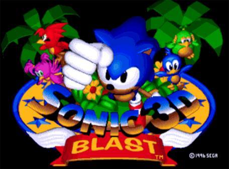 скриншот Sonic 3D Blast 0