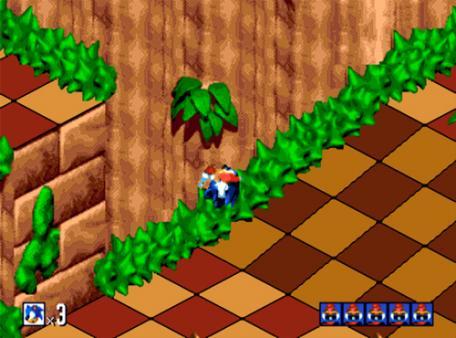 скриншот Sonic 3D Blast 3