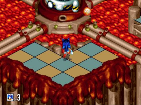 скриншот Sonic 3D Blast 1