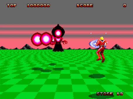 скриншот Space Harrier II 3
