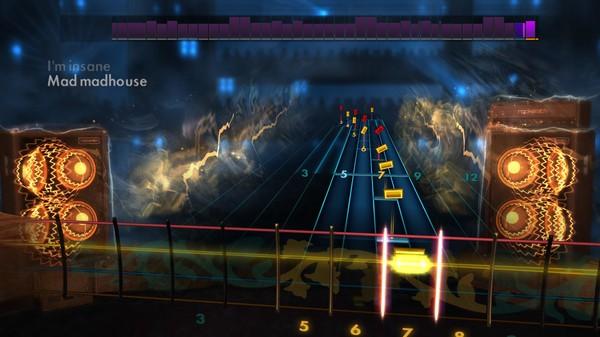 "Скриншот №3 к Rocksmith® 2014 – Anthrax - ""Madhouse"""