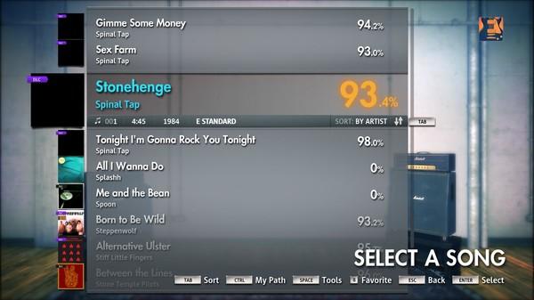 "Скриншот №3 к Rocksmith® 2014 – Spinal Tap - ""Stonehenge"""