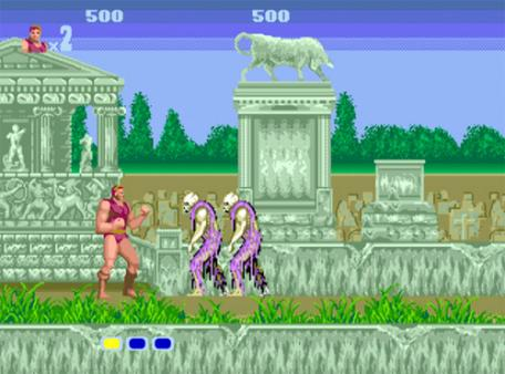 скриншот Altered Beast 1