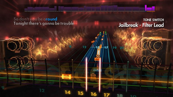 "Скриншот №2 к Rocksmith® 2014 – Thin Lizzy - ""Jailbreak"""