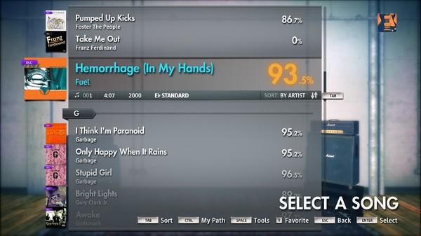 "Скриншот №3 к Rocksmith® 2014 – Fuel - ""Hemorrhage In My Hands"""