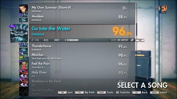 "Скриншот №4 к Rocksmith® 2014 – Dethklok - ""Go Into the Water"""