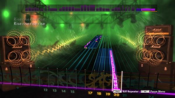 Скриншот №5 к Rocksmith® 2014 – Dethklok Song Pack