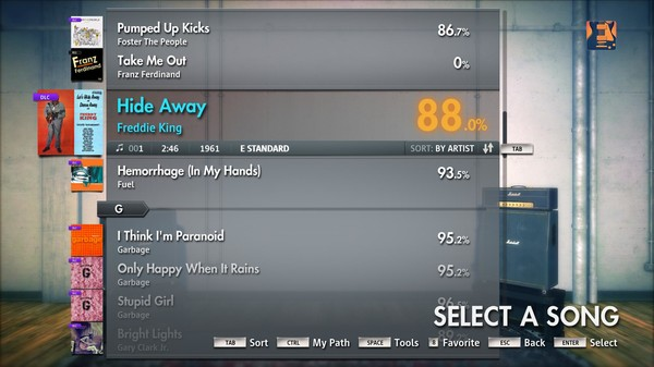 "Скриншот №4 к Rocksmith® 2014 – Freddie King - ""Hide Away"""
