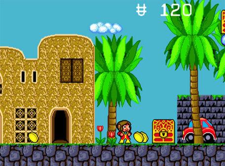 скриншот Alex Kidd in the Enchanted Castle 1