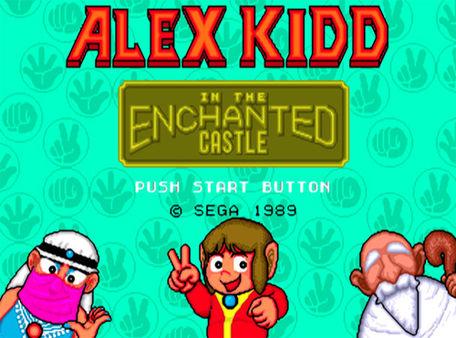 скриншот Alex Kidd in the Enchanted Castle 0