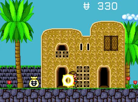 скриншот Alex Kidd in the Enchanted Castle 2