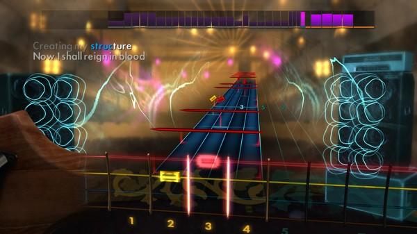 "Скриншот №3 к Rocksmith® 2014 – Slayer - ""Raining Blood"""