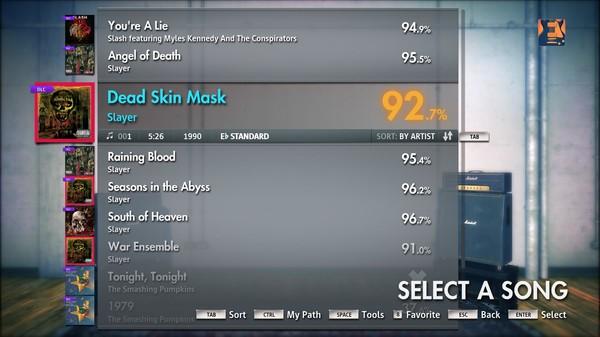 "Скриншот №2 к Rocksmith® 2014 – Slayer - ""Raining Blood"""