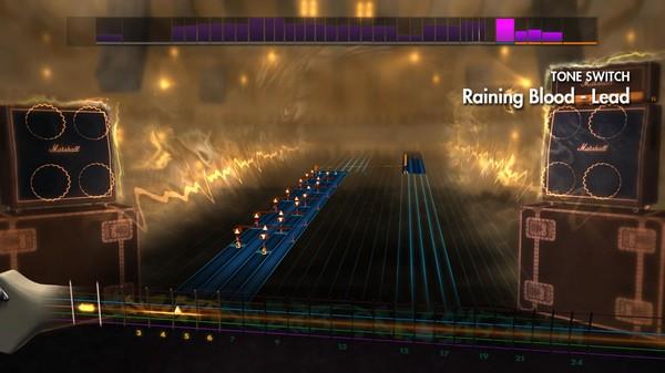 "Скриншот №1 к Rocksmith® 2014 – Slayer - ""Raining Blood"""