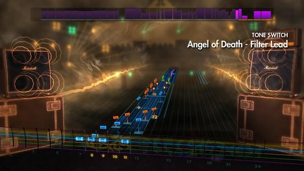 "Скриншот №1 к Rocksmith® 2014 – Slayer - ""Angel of Death"""