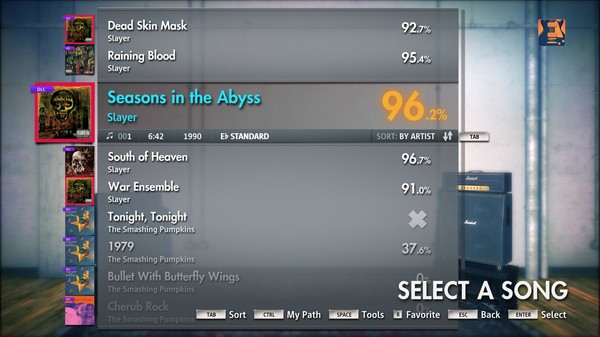 "Скриншот №2 к Rocksmith® 2014 – Slayer - ""Seasons in the Abyss"""