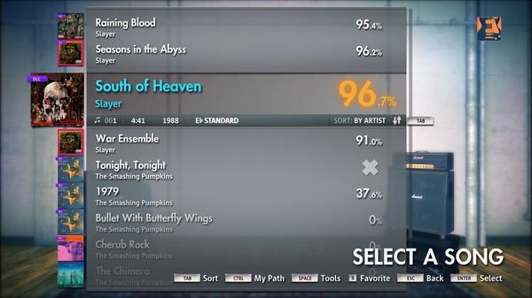 "Скриншот №2 к Rocksmith® 2014 – Slayer - ""South of Heaven"""