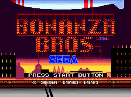 скриншот Bonanza Bros. 0
