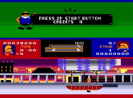 скриншот Bonanza Bros. 3